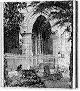 Dryburgh Abbey, 1866 Acrylic Print