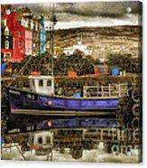 Tobermory Isle Of Mull Acrylic Print