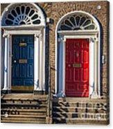 Dual Doors Acrylic Print