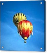 Dualing Ballons Acrylic Print