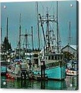 Duashala Fishing Boat Hdrbt4247-13 Acrylic Print