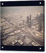 Dubai Citylife Acrylic Print by Maeve O Connell