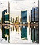 Dubai Downtown -  Acrylic Print