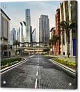 Dubai Acrylic Print by Jelena Jovanovic