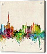 Dubai Skyline Acrylic Print