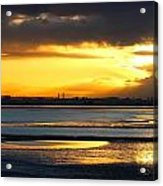 Dublin Bay Sunset Acrylic Print