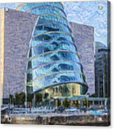 Dublin Convention Centre Republic Of Ireland Acrylic Print