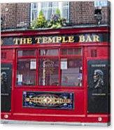 Dublin Ireland - The Temple Bar Acrylic Print