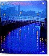 Dublin Starry Nights Acrylic Print