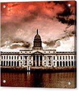Dublin - The Custom House Acrylic Print
