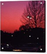 Dubonnet Sky  Acrylic Print