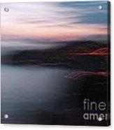 Dubrovnik At Dusk Acrylic Print