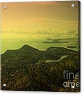 Dubrovnik Islands  Acrylic Print