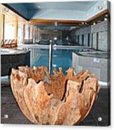 Dubrovnik Palace Pool Acrylic Print