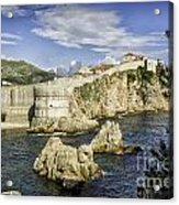 Dubrovnik Walled City Acrylic Print