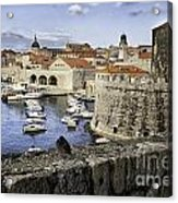 Dubrovnik Walls Acrylic Print