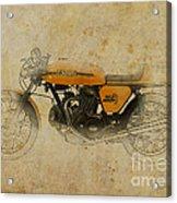 Ducati 750 Sport 1973 Acrylic Print by Pablo Franchi
