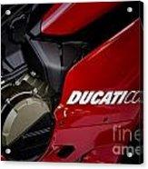 Ducati-unplugged V9 Acrylic Print