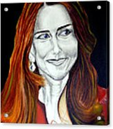 Duchess Of Cambridge Acrylic Print