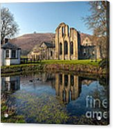 Duck Pond Acrylic Print by Adrian Evans