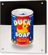 Duck Soap Acrylic Print