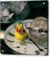 Duck The Hour Acrylic Print