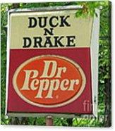 Duckter Pepper Acrylic Print