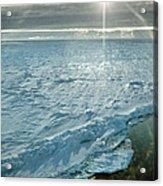 Due South 1.30am Ross Sea Acrylic Print