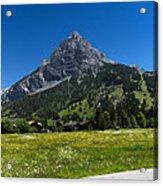 Duendenhorn Mountain Acrylic Print