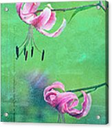 Duet - 9t01b Acrylic Print