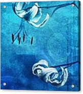 Duet - Blue03 Acrylic Print