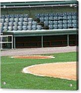 Dugout At The Old Ballpark Acrylic Print