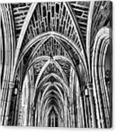 Duke Chapel Arches Acrylic Print