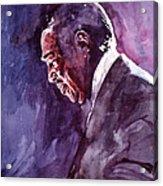 Duke Ellington Mood Indigo Sounds Acrylic Print