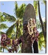 Duke Kahanamoku Statue Acrylic Print