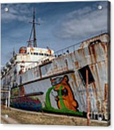 Duke Of Graffiti Acrylic Print
