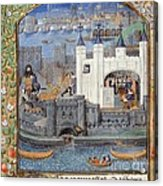 Duke Of Orleans, Tower Of London, 1430s Acrylic Print