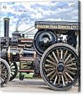 Duke Of York Traction Engine 4 Acrylic Print