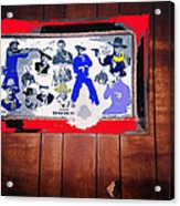 Duke Wayne Western Films Collage Casa Grande Arizona 2012 Acrylic Print