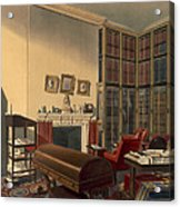 Dukes Own Room, Apsley House, By T. Boys Acrylic Print