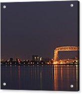 Duluth Canal Park Eve 2 Acrylic Print