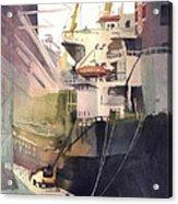 Duluth Harbor Acrylic Print