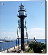 Duluth Mn Lighthouses  Acrylic Print