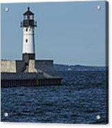 Duluth N Pier Lighthouse 40 Acrylic Print