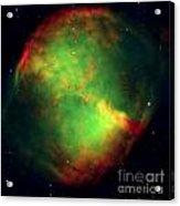 Dumbbell Nebula Acrylic Print