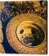 Dumped Tire Acrylic Print