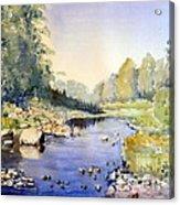 Dundas Valley Acrylic Print