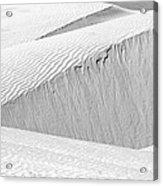 Dune Abstract, Paryang, 2011 Acrylic Print