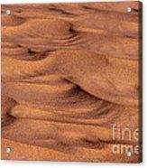 Dune Patterns - 248 Acrylic Print