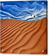 Dune Raven Sky Acrylic Print
